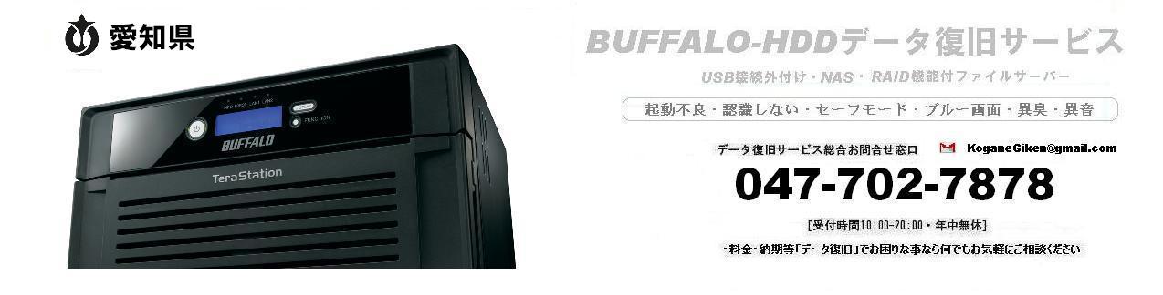 愛知県-BUFFALO-HDDデータ復旧サービス・認識しない