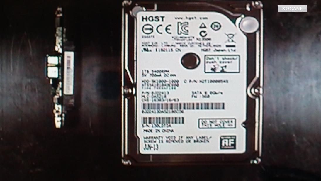 BUFFALO-HDD-2.5inch/500Gb・リトライ物理障害データ復旧事例