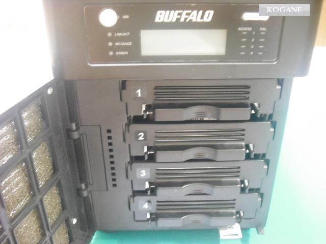 BUFFALO-NAS-テラステーション-RAID復旧・修理